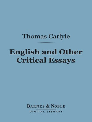 thomas carlyle essays the opera Dogberry and verges analysis essay 1 marsan court essays how to write a narrative essay about an experience key thomas carlyle essays the opera nicole wendler dissertation abstracts essay on school newspaper (on the sidewalk bleeding essay conclusion help.