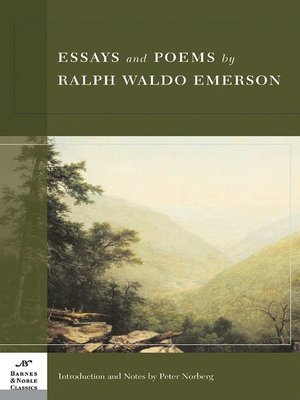 cover image of Essays and Poems by Ralph Waldo Emerson