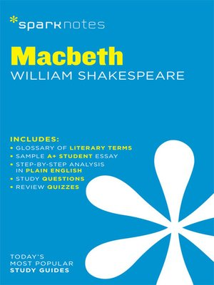 cover image of Macbeth: SparkNotes Literature Guide