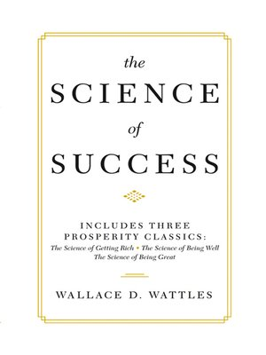 cover image of The Science of Success