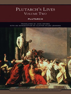 cover image of Plutarch's Lives Volume Two