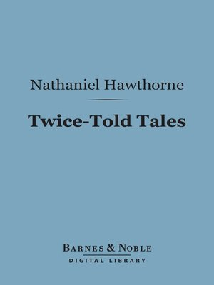 cover image of Twice-Told Tales