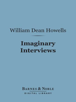 cover image of Imaginary Interviews