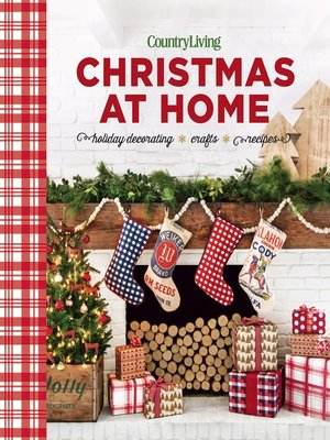 cover image of Country Living Christmas at Home