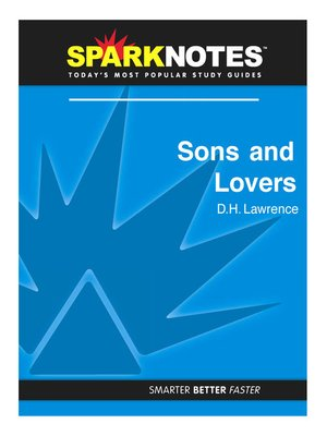 cover image of Sons and Lovers (SparkNotes Literature Guide)