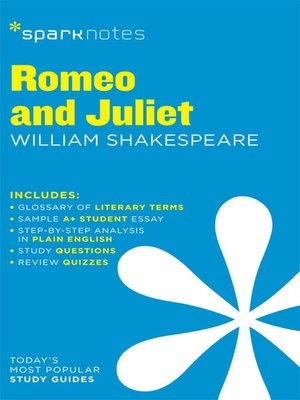cover image of Romeo and Juliet: SparkNotes Literature Guide