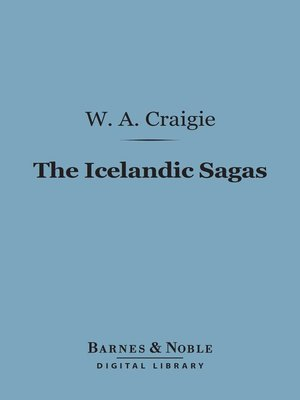 cover image of The Icelandic Sagas