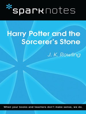 cover image of Harry Potter and the Sorcerer's Stone: SparkNotes Literature Guide