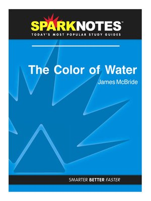 cover image of The Color of Water: SparkNotes Literature Guide
