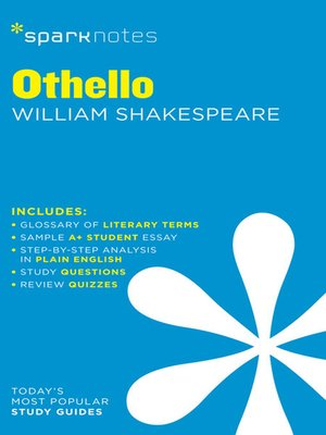 cover image of Othello: SparkNotes Literature Guide