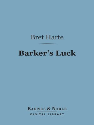 cover image of Barker's Luck