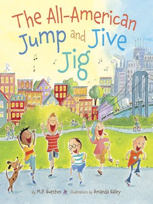 cover image of The All-American Jump and Jive Jig