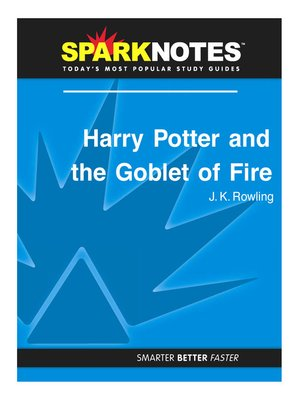 sparknotes · overdrive rakuten overdrive ebooks audiobooks and  harry potter and the goblet sparknotes literature guide series