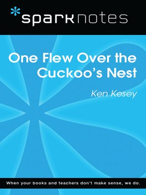 cover image of One Flew Over the Cuckoo's Nest: SparkNotes Literature Guide