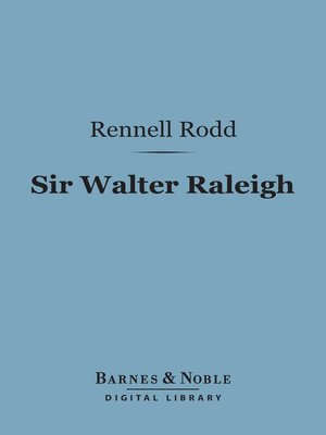 cover image of Sir Walter Raleigh