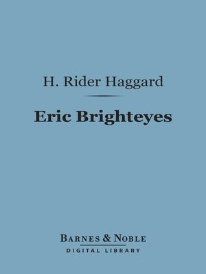 cover image of Eric Brighteyes
