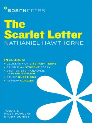 cover image of The Scarlet Letter: SparkNotes Literature Guide