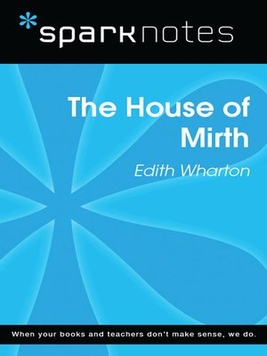 cover image of The House of Mirth (SparkNotes Literature Guide)