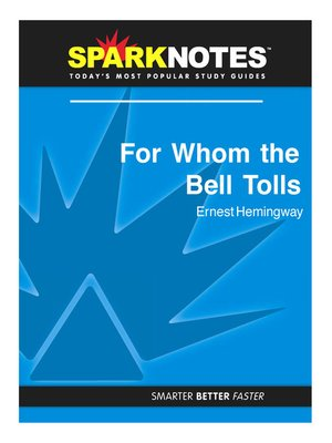 cover image of For Whom the Bell Tolls: SparkNotes Literature Guide