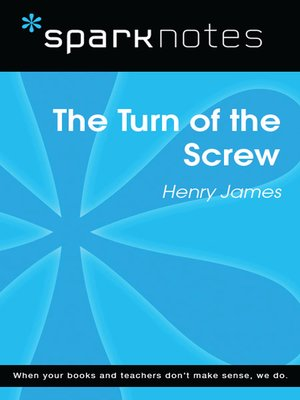 cover image of The Turn of the Screw: SparkNotes Literature Guide