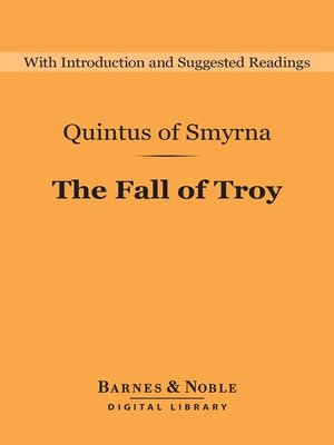 cover image of The Fall of Troy