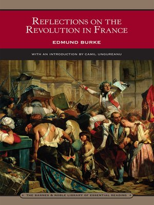 cover image of Reflections on the Revolution in France