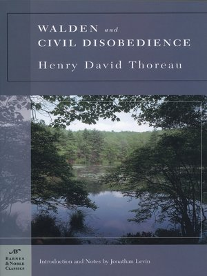 cover image of Walden and Civil Disobedience