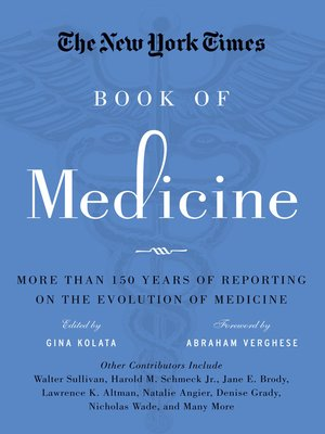 cover image of The New York Times Book of Medicine