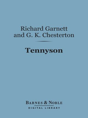 cover image of Tennyson