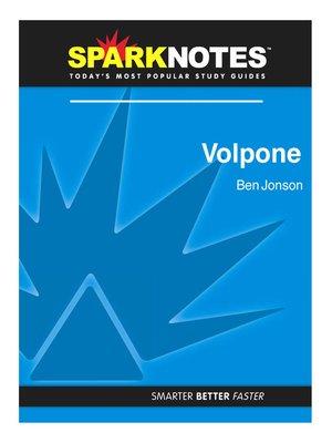 ben jonson · rakuten ebooks audiobooks and  volpone sparknotes