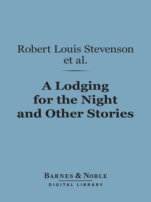 cover image of A Lodging for the Night and Other Stories