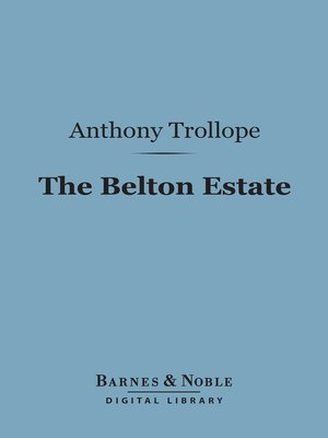 cover image of The Belton Estate