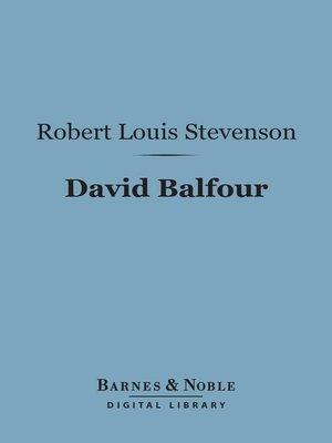 cover image of David Balfour