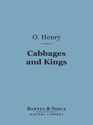 cover image of Cabbages and Kings