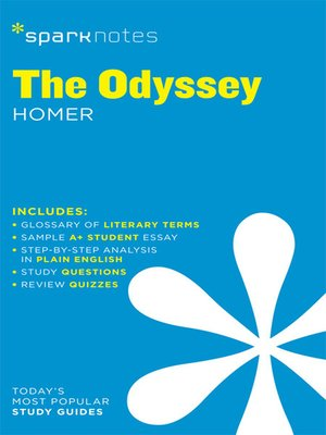 cover image of The Odyssey: SparkNotes Literature Guide