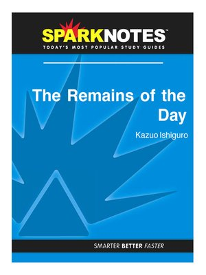 cover image of The Remains of the Day: SparkNotes Literature Guide