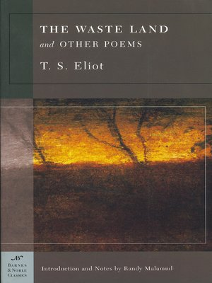 cover image of The Waste Land and Other Poems