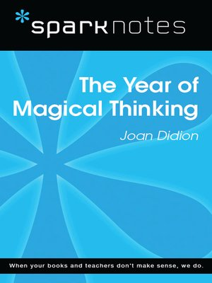 cover image of The Year of Magical Thinking: SparkNotes Literature Guide