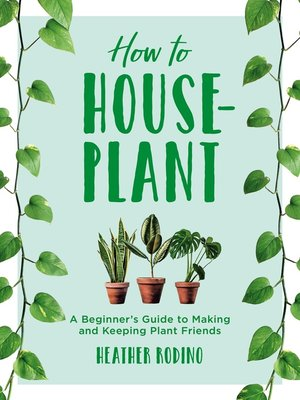 cover image of How to Houseplant