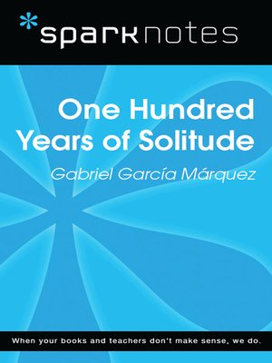 cover image of 100 Years of Solitude: SparkNotes Literature Guide