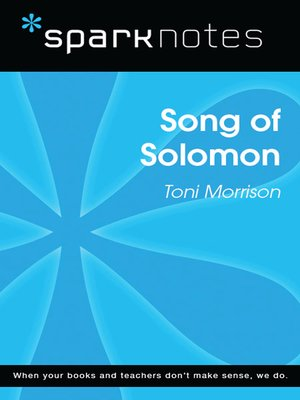cover image of Song of Solomon (SparkNotes Literature Guide)