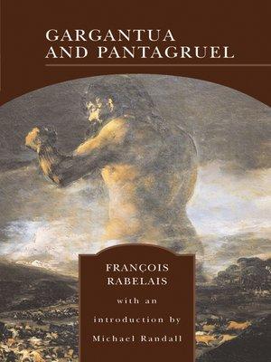 cover image of Gargantua and Pantagruel