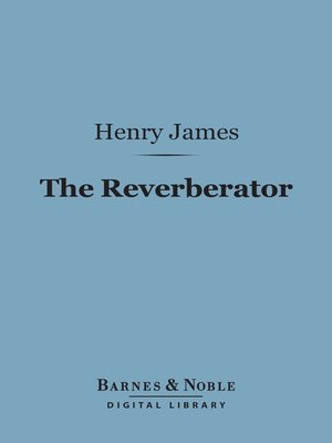 cover image of The Reverberator