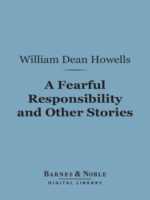 cover image of A Fearful Responsibility and Other Stories