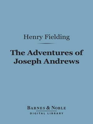 cover image of The Adventures of Joseph Andrews