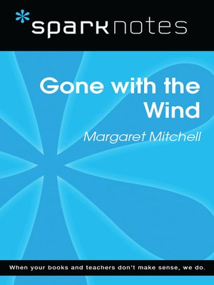 cover image of Gone with the Wind: SparkNotes Literature Guide