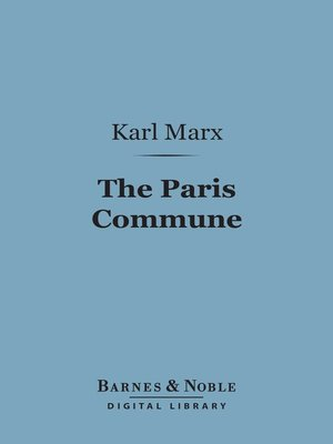 cover image of The Paris Commune