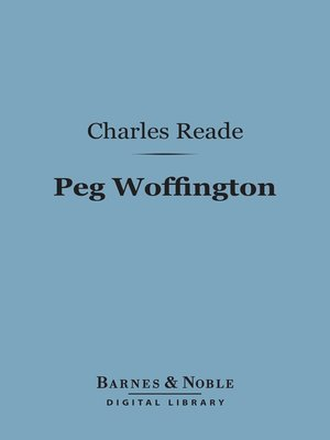 cover image of Peg Woffington