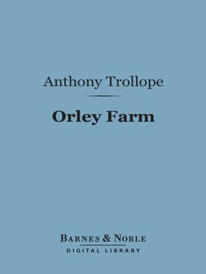 cover image of Orley Farm