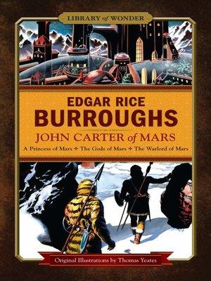 cover image of John Carter of Mars